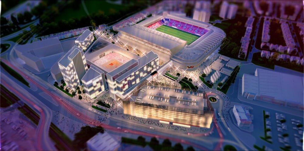 The latest Ashton Gate development vision aims to 'change lives through sport'.