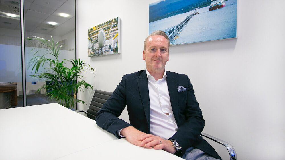 Ben Dorks CEO of Ideagen