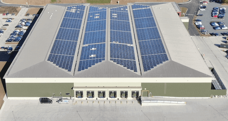 Berry Gardens Solar Panel Array