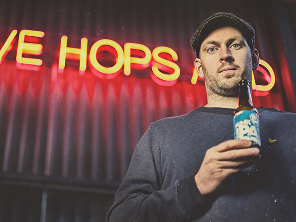 James Watt, Co-founder of BrewDog - ranked 40th on the league table