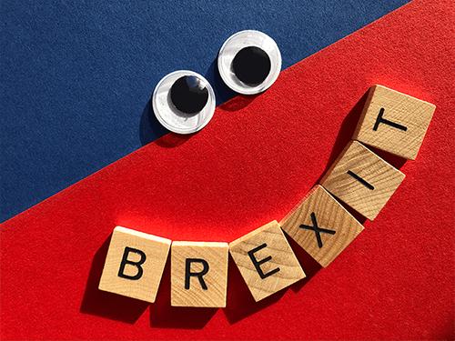 Brexit smiley face creative company