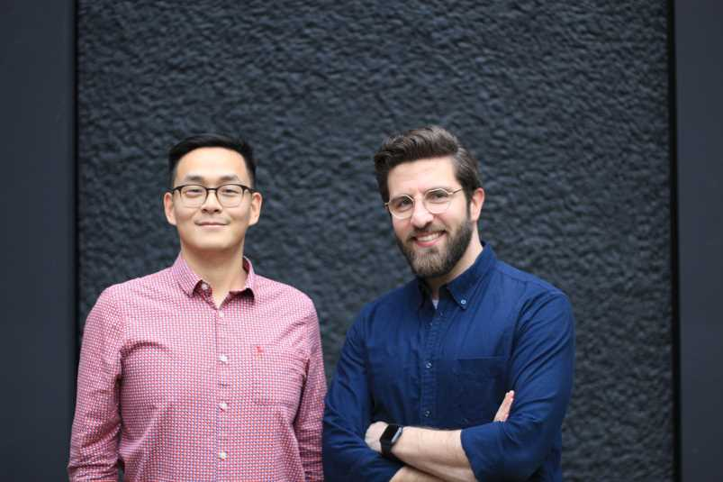 Dr Jing Ouyang and Dr Anas Nader Patchwork Health co-founders_