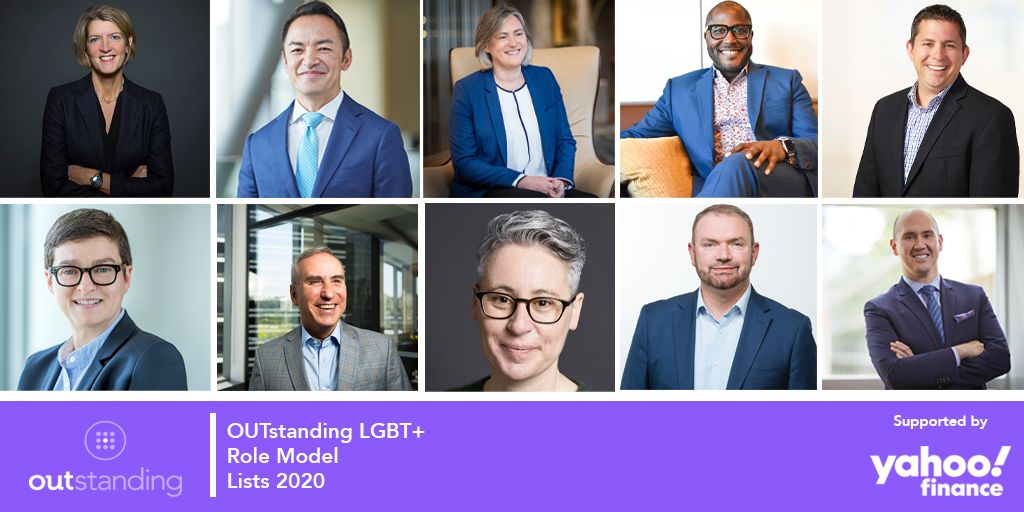 Executives from the INvolve OUTstanding LGBT+ Role Models Lists