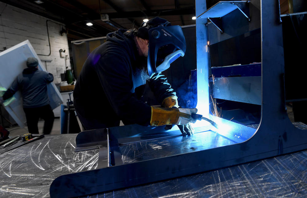 Telford-based Hitherbest Sheet Metal Fabrications has been supported by the Manufacturing Growth Programme