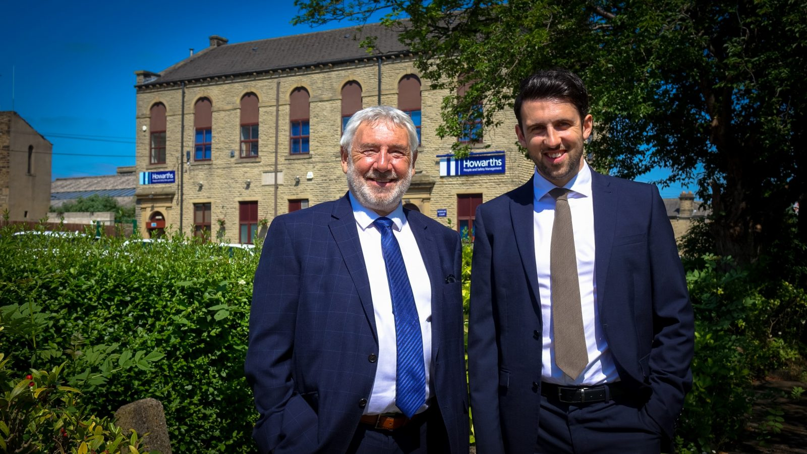 Howarths chairman, Andy Howarth (left), with managing director, Gavin Howarth
