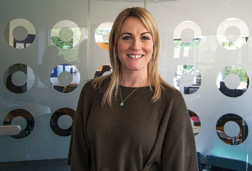SWIG Finance's Business Manager Nicola Mapp