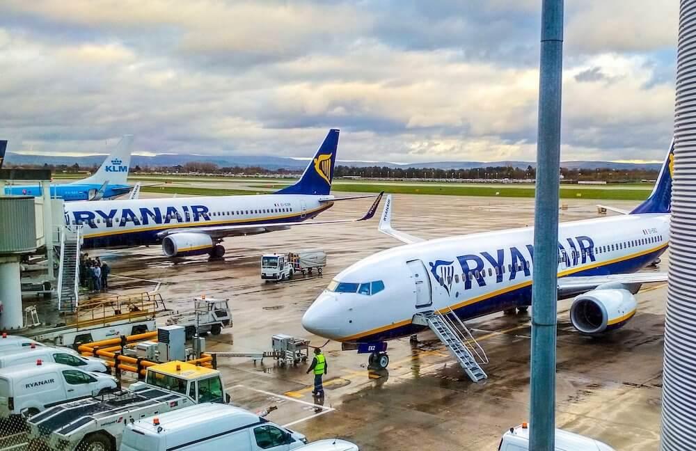 Ryanair is grounding the majority of its fleet.