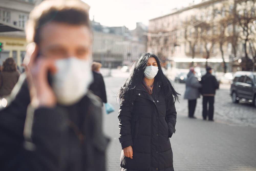 Social distancing spanish flu covid-19