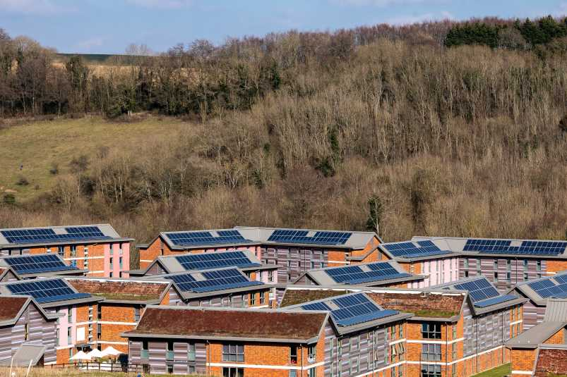 Sussex solar panels