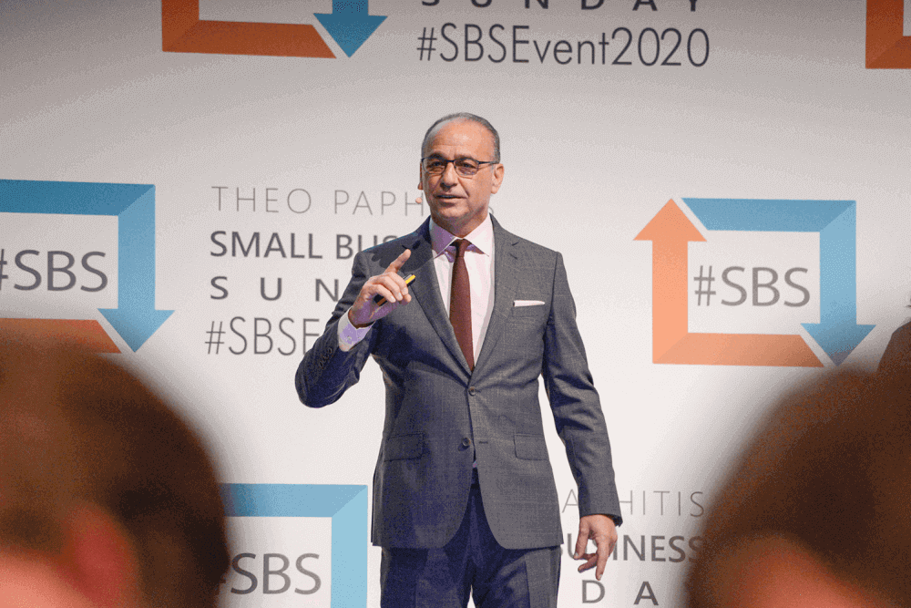 Theo Paphitis Small Business Sundays Young Enterprise