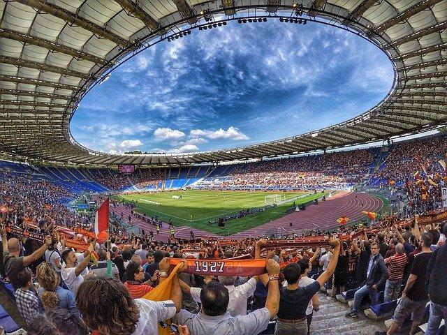 Stadio Olimpico, Rome - Home as AS Roma