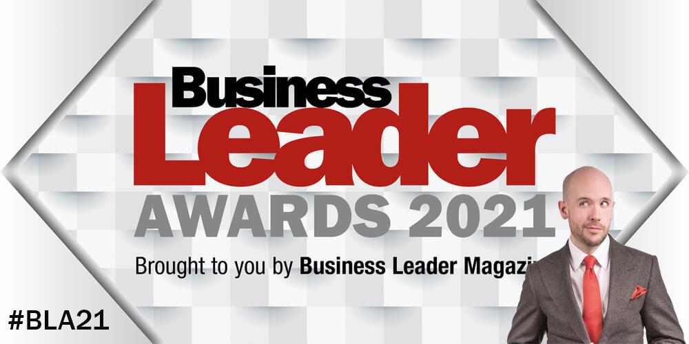 Business Leader Awards 2021 featuring Tom Allen