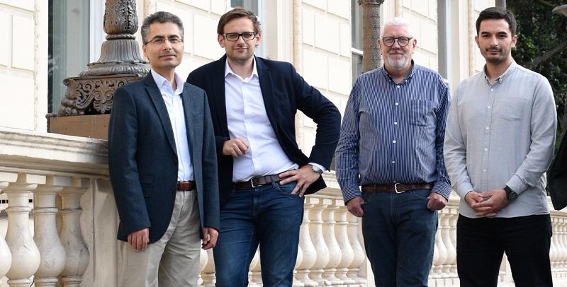 Bubo founders - Huseyin Seker Marcin Lisowski Alan Timothy Furkan Tektas