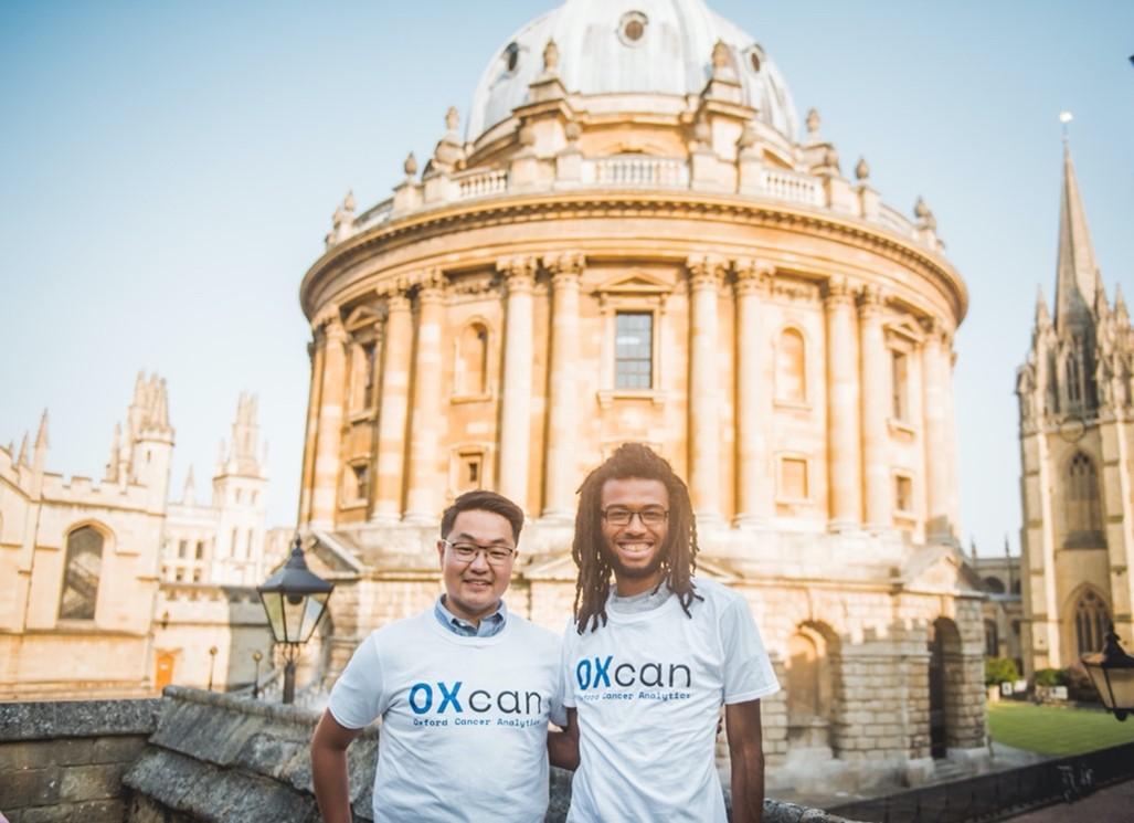 Dr Peter Jianrui Liu and Andreas Halner, OXcan