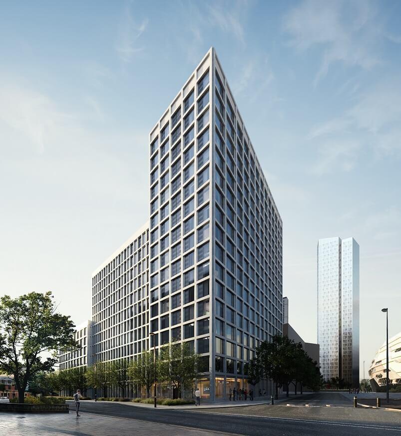 Proposed development for Merrion Way, Leeds